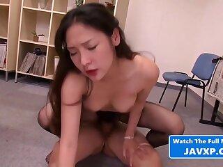 Beautiful Asian Teen Fucked At Work